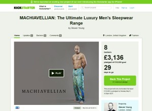machiavellian kickstarter