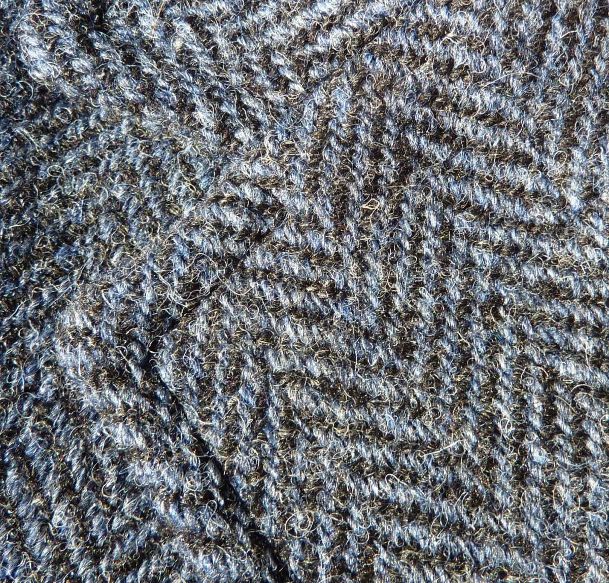 Waistcoat Wednesday: Nigel Cabourn, herringbone Harris Tweed finery