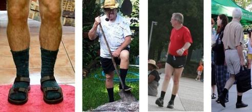 shorts-and-black-socks