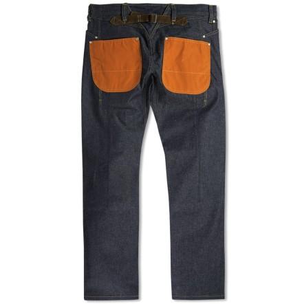 Oddball Japanese hemp-based jeans by Junya Watanabe