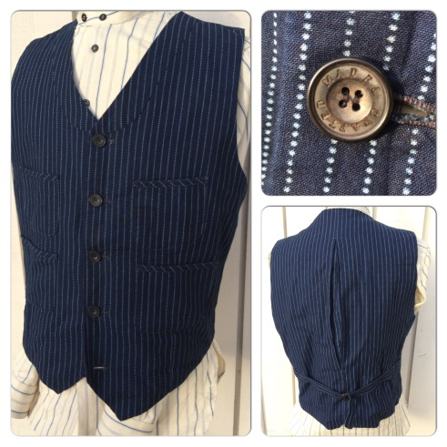 Levis Made & Crafted wabash style waistcoat. Nice quality and without a mark on it. Marked as a size 4. 75 pounds.