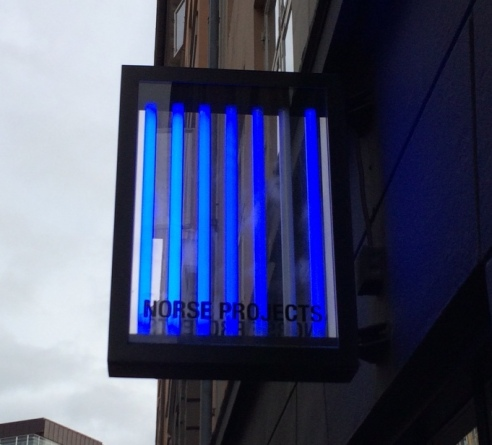 Norse Store neon sign