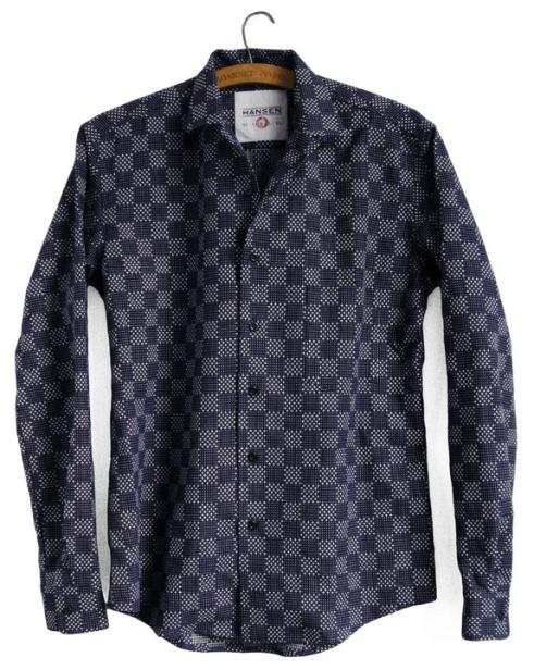 steffen indigo shirt