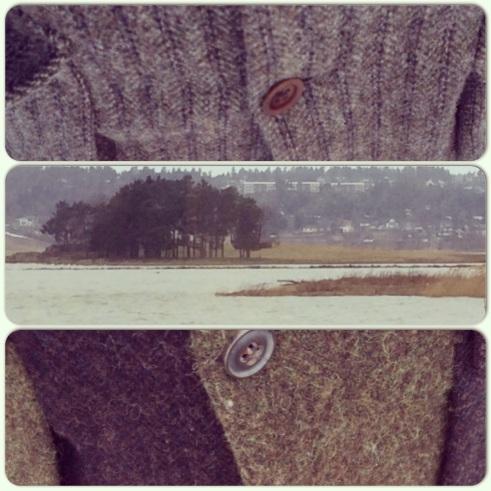 the nature hues of harris tweed