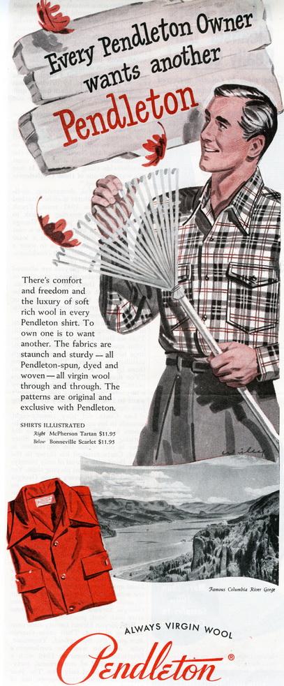 Pendleton-Wool-Shirt-1949-Ad