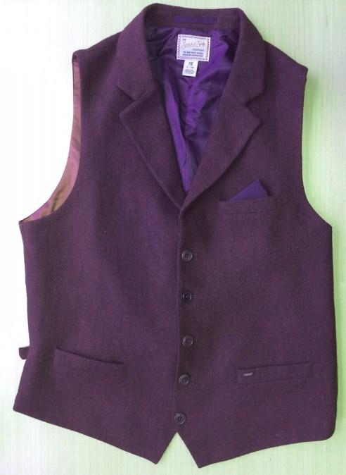 waistcoat front