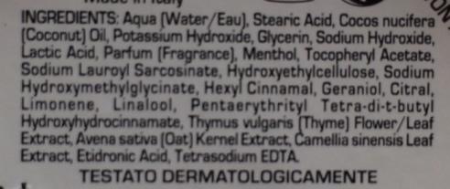 proraso ingredients