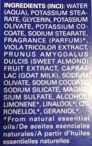 weleda ingredients