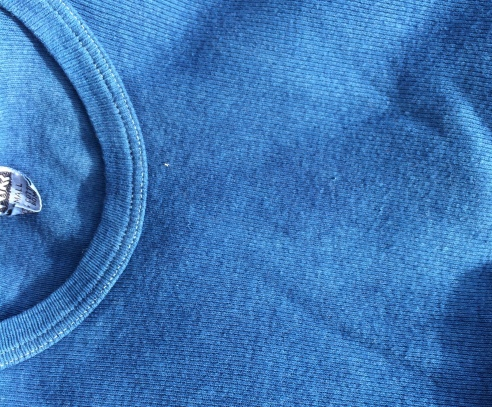 Deadstock mil-spec cotton shirt after enduring soak and wash. Looks better than before!