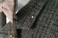 harris tweed jacket project day two