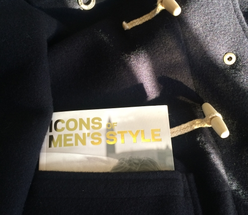 icons of mens style in a duffle pocket