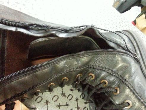 Random broken boots from Google Images.