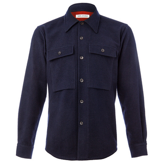 Cigarette Pocket Overshirt [LINK]