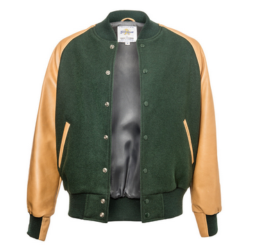 The Premium Raglan Varsity Jacket