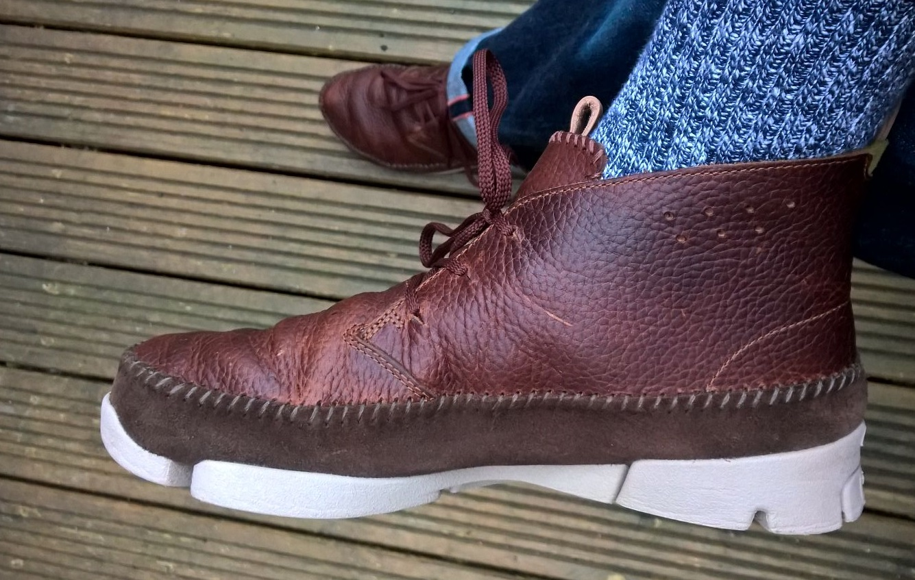 Clarks Trigenic. Very Right! Very Wrong