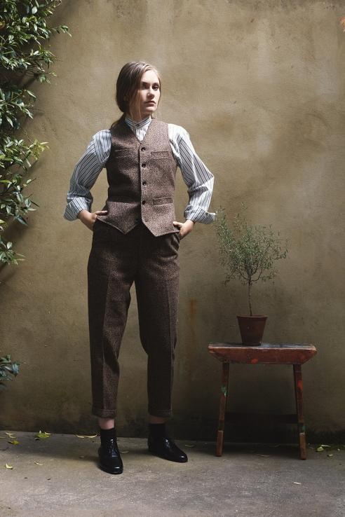 Cobbler waistcoat in fabric 26 - LaneFortyfive