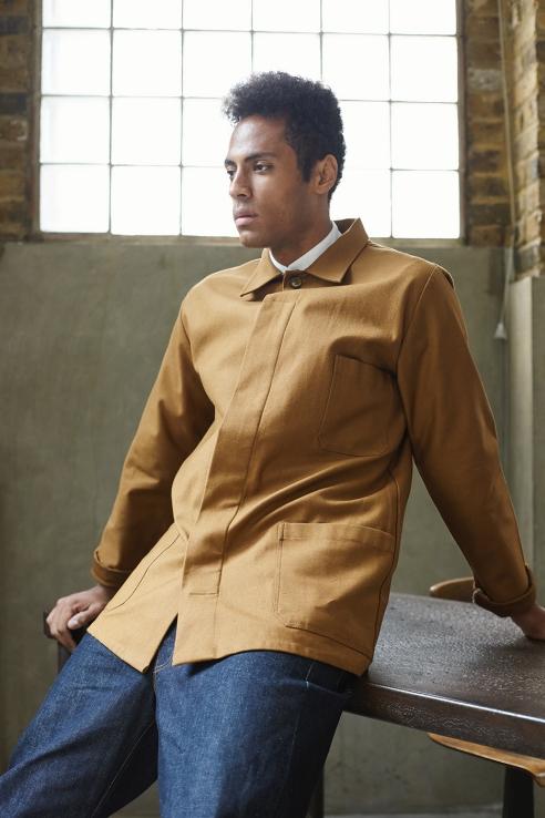 Oldhand overshirt in fabric 11 - LaneFortyfive