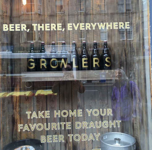 Every up and coming area need a craft beer outlet.