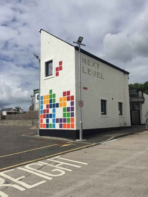 This photo is of a cool building in Ullapool. I was going to show you some of Inverness, but I appear to have neglected to document the miserable place.
